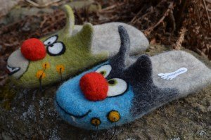 Felting with Inga Logina